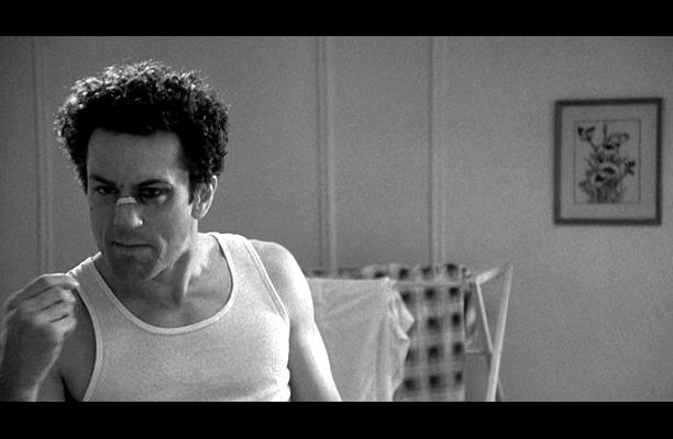 Robert De Niro, Raging Bull | still salty from walking into that door. From: Raging Bull