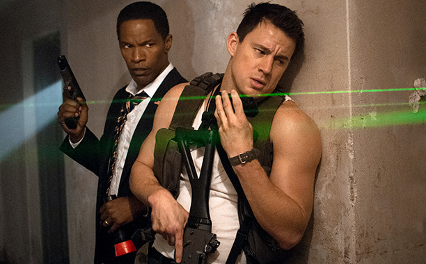 White House Down, Channing Tatum | Audiences, this is the Deltoid Force. Brace for leering.