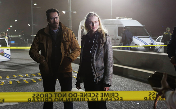 EW's Must List | Adapted from a Scandinavian series of the same name, The Bridge opens on a ''dead body'' — the top half of a female Texas judge…