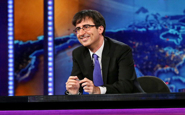 THE BRITISH ARE COMING John Oliver takes over for Stewart