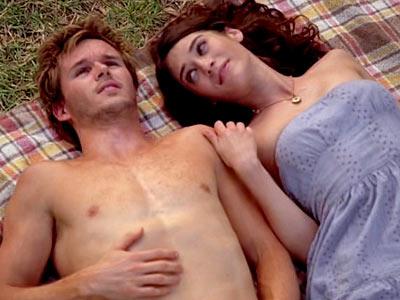 Ryan Kwanten, True Blood   Season 1, episode 9 Scene: Jason and his girlfriend (guest star Lizzy Caplan) enjoy the trippiest hook-up on True Blood so far, but swimming through…