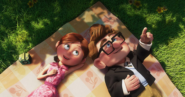 Up | Many of Pixar's greatest moments rely not on snappy dialogue, but on a harmonious relationship between visuals and music. That couldn't be truer of this…