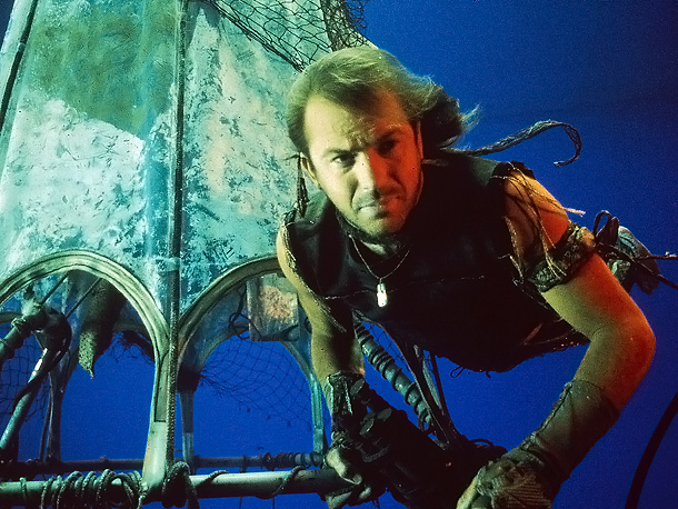 Two years before James Cameron told the story of the Titanic , this Kevin Costner mega-flop shared the ocean liner's fate. Waterworld had a number…