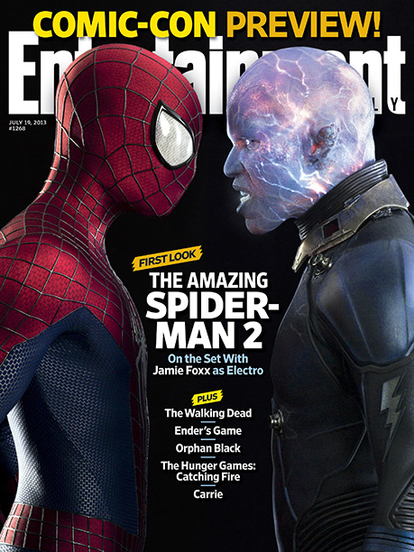 For more on The Amazing Spider-Man 2 , pick up a copy of EW on newsstands or buy the issue here now .