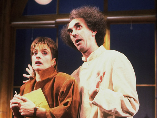 By Dario Fo Fo's farce — based on a 1969 incident involving a Milan terror suspect — features a lethal bomb, a histrionic judge-impersonating criminal…