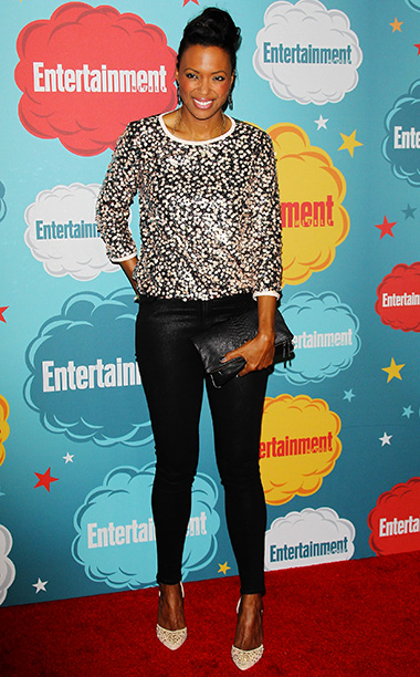 Aisha Tyler | ''All of Comic-Con is weird. I love it here. I was a really nerdy, outsider-y kid.''