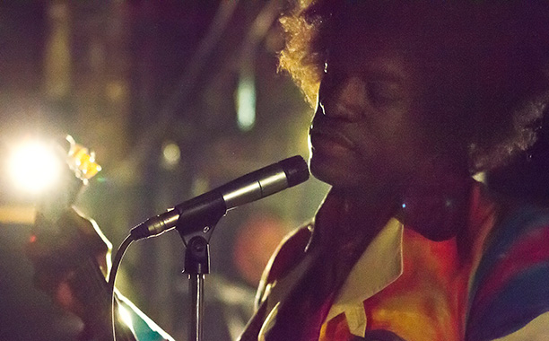 André Benjamin as Jimi Hendrix in All Is by My Side