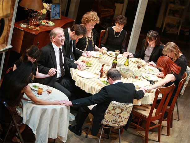 By Tracy Letts Pill-popping Oklahoma matriarch Violet Weston serves as hostess of a memorably snappish family reunion in Letts' barnstorming domestic drama. Buy it: Amazon…