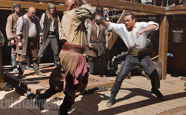 The swashbucklers on Black Sails are not interested in perpetuating pirate stereotypes. The upcoming Starz drama, exec-produced by Transformers director Michael Bay, centers on a…