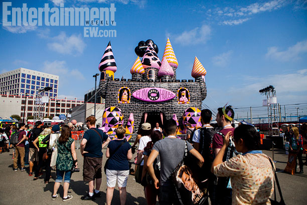 San Diego Comic-Con 2013 | Outside the Adult Swim Fun House