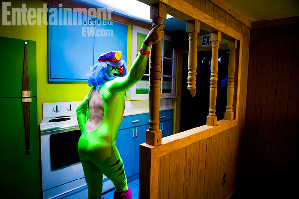 San Diego Comic-Con 2013 | Now you see Dr. Rockso in the kitchen...