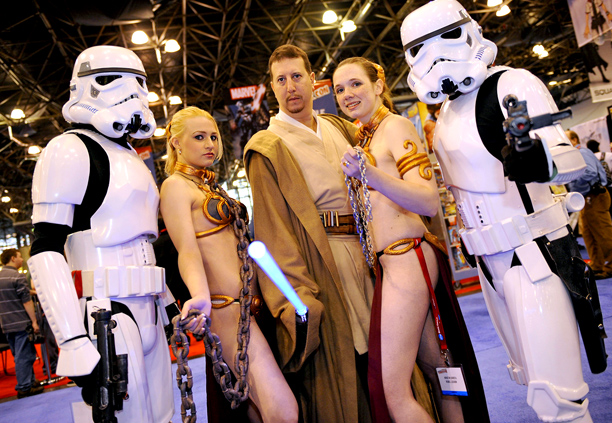 Comic Con Fans