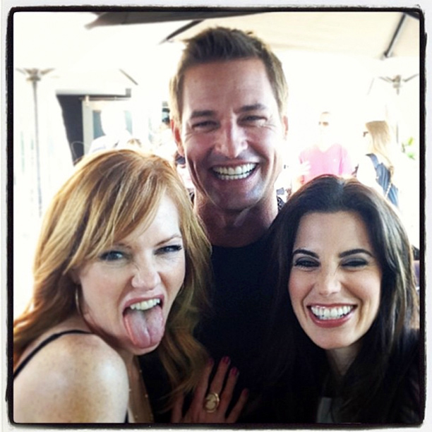 Josh Holloway, San Diego Comic-Con 2013, ... | All smiles with @Meghanrory @marghelgenberger #JoshHolloway