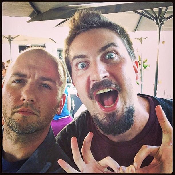 Adam Wingard, San Diego Comic-Con 2013, ... | @adamwingard #yourenext