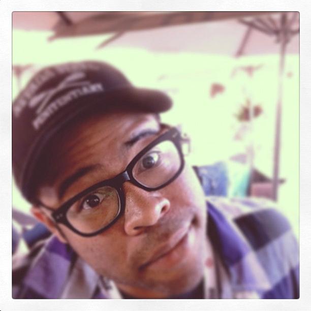 Jordan Peele, San Diego Comic-Con 2013 | chillin' with @jordanpeele