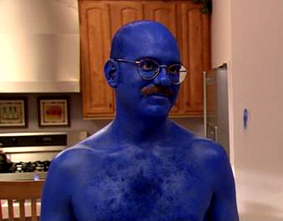 Arrested Development, David Cross   Arrested Development (2003-present) Tobias: I'm afraid that I just blue myself. Michael: There really has got to be a better way to say that.