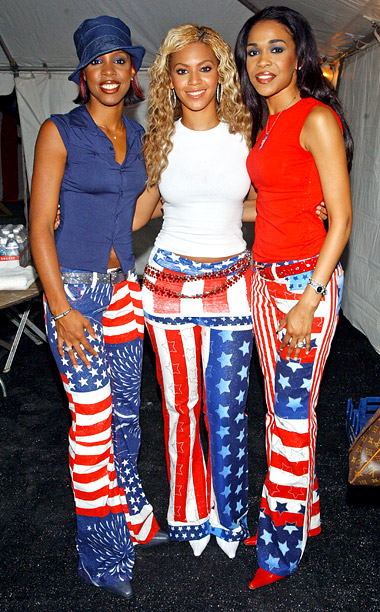 Style, Style: Red Carpet, ... | Before Beyonce struck out on her own, Destiny's Child was one harmoniously attired girl group , as evidenced by the patriotic bell bottoms and color…