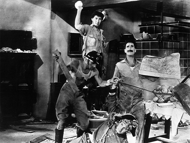 Directed by Leo McCarey The Marx Brothers hit their uproarious, looney-tunes peak in this madcap vision of a political empire gone gleefully berserk. Download it:…