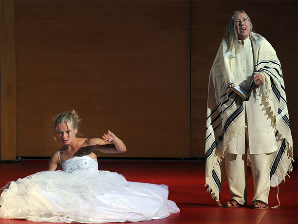 By S. Ansky On the eve of her wedding, a young woman is possessed by a malevolent spirit. Based on Jewish folklore, the play has…