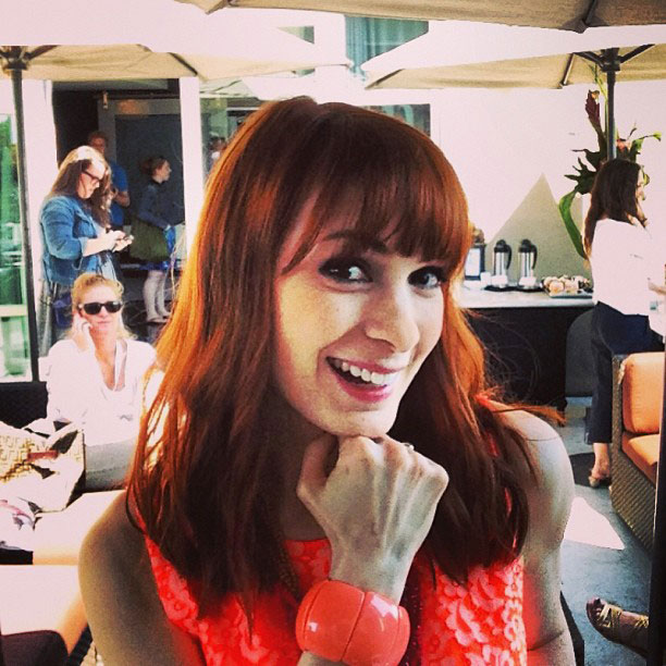 Felicia Day, San Diego Comic-Con 2013 | Catching up with @feliciaday
