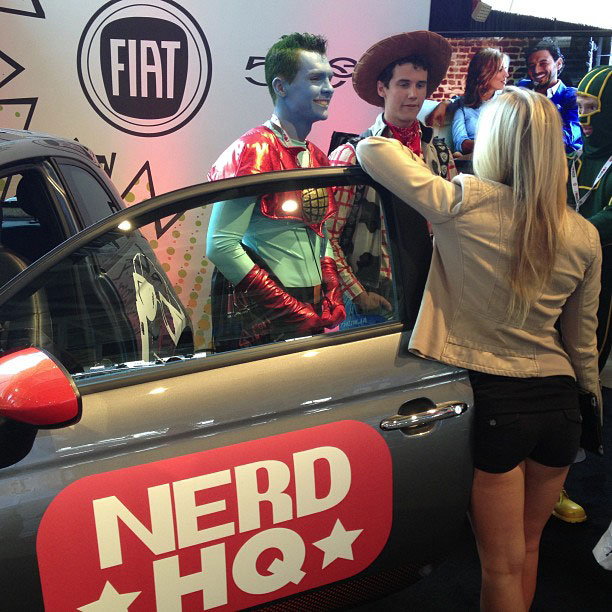 Zachary Levi, San Diego Comic-Con 2013 | Zach Levi's Nerd HQ at Petco Park