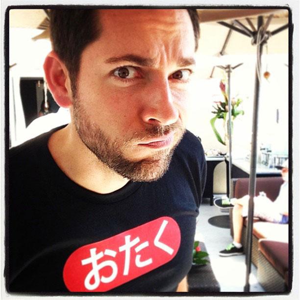 Zachary Levi, San Diego Comic-Con 2013 | @zacharylevi gave us the stink eye