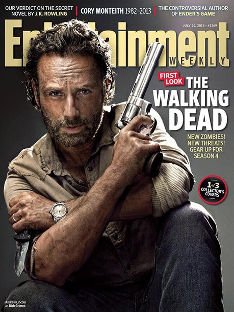 The Walking Dead | For more exclusive access to info on The Walking Dead season 4, pick up EW on newsstands now or buy the issue online now .
