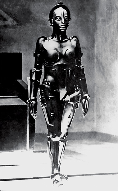Metropolis | The ''grandmother of them all,'' as del Toro puts it. Considered one of cinema's very first androids, the curvy industrialized siren was created by Walter…