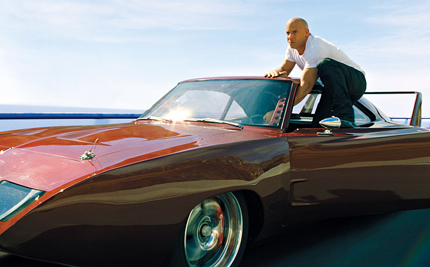 DOM-INANT SPECIES Vin Diesel is back as Dominic Toretto in the heart-punding, adrenaline-pumping sixth edition of the Fast & Furious franchise.