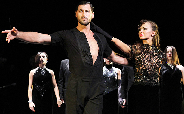 IT TAKES TWO Karina Smirnoff and Maksim Chmerkovskiy in Forever Tango