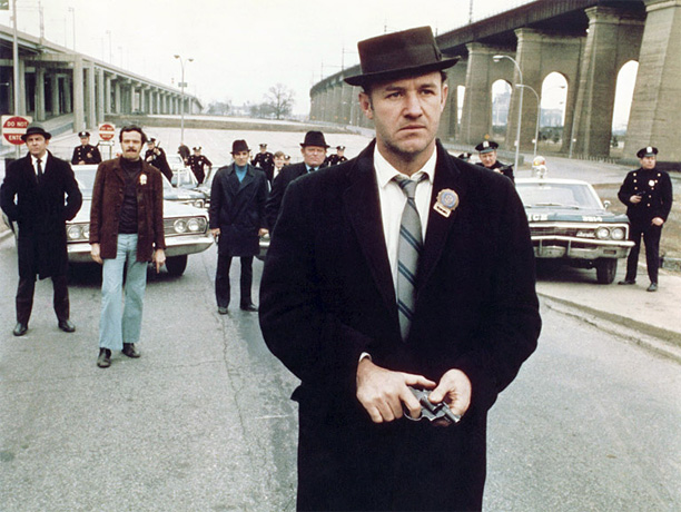Directed by William Friedkin A nail-biter about international heroin smuggling, with a remarkable performance by Gene Hackman as sleazo-heroic New York cop Popeye Doyle and…