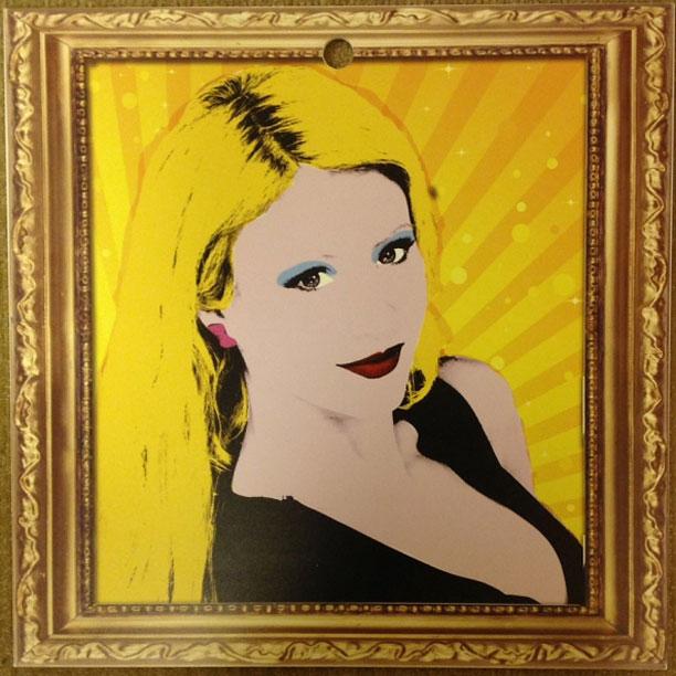 GinaMarie Warhol Portrait