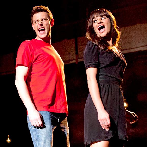Glee Lea Michele Cory Monteith