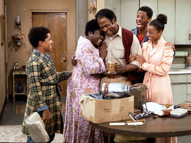 CBS, 1974-79 Long before Roseanne put the ''domestic goddess'' stamp on the lower middle class, this dy-no-mite spin-off of Maude showed (with an entirely African-American…