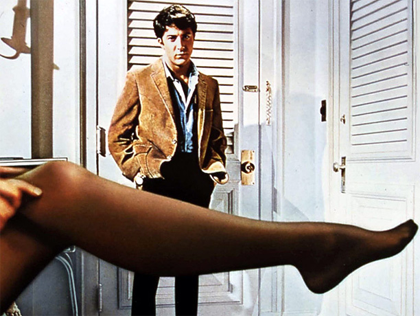 ''I just want to say one word to you. One Word?Plastics.'' Ostensibly a film about an aimless young man (Dustin Hoffman) spiritually adrift and ensnared…