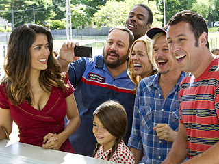 Movie Guide | GETTING THE BAND BACK TOGETHER Adam Sandler and his buddies return for a delightful follow up to 2010's Grown Ups