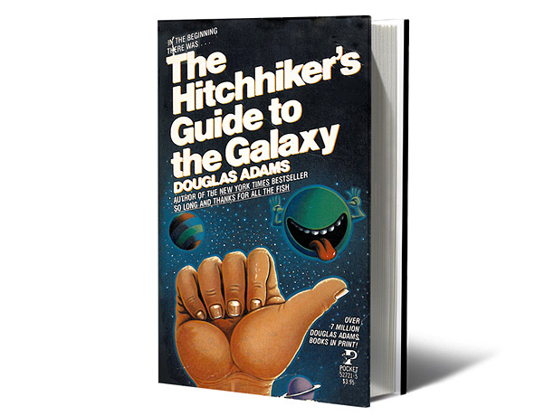 The laugh-out-loud funny sci-fi novel — the first in a series — unfolds just as Earth is pulverized to make room for a highway. Download…