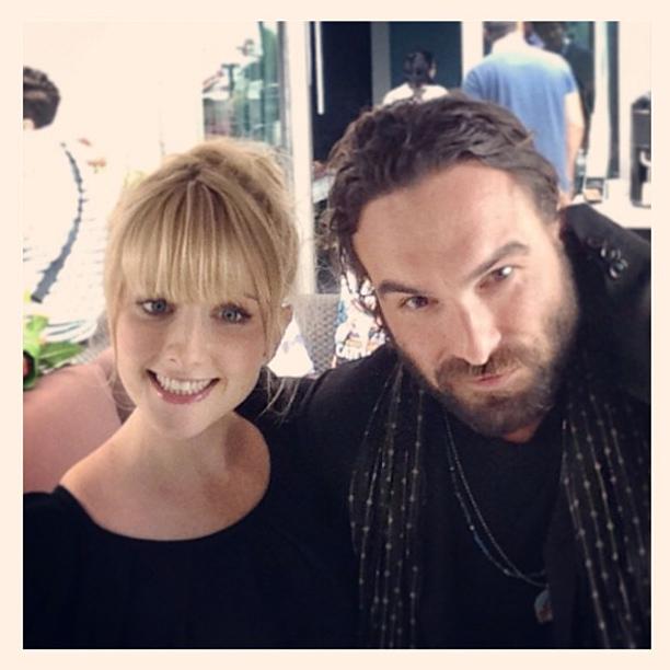 Johnny Galecki, San Diego Comic-Con 2013, ... | Nerd alert! #JohnnyGalecki & #MelissaRaunch #BigBangTheory