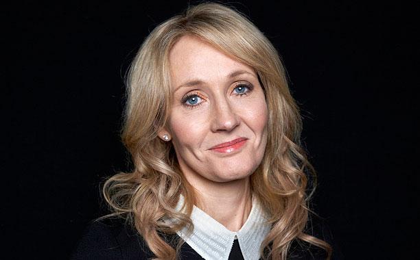 J K Rowling Portrait