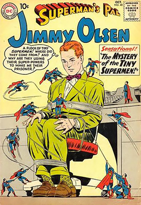 Sidekick to: Clark Kent/Superman Superman franchise (1938-present) On the big screen, Daily Planet photographer and cub reporter Jimmy Olsen is relegated to playing Clark's (and…