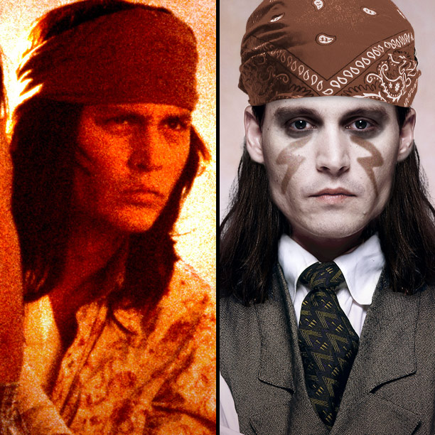Johnny Depp | Though Depp's little-seen directorial debut The Brave was never released in the U.S., we do know that he wore a bitchin' headband in it. Add…