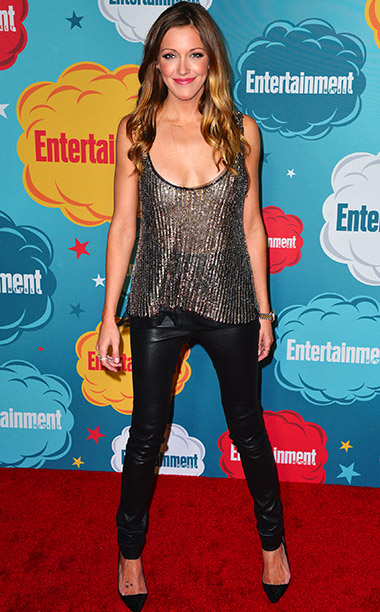 Katie Cassidy, San Diego Comic-Con 2013 | ''Every year Comic-Con gets bigger and bigger and bigger.''