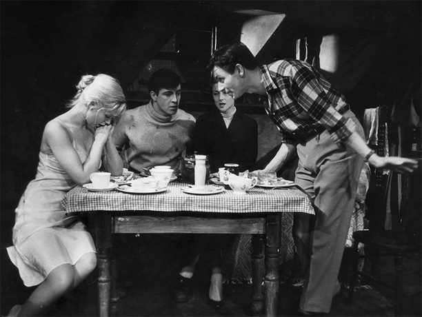 By John Osborne The first of British theater's Angry Young Men, Osborne produced a harshly realistic love triangle involving a working-class lad who marries an…