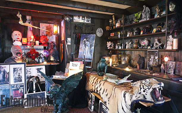 The Conjuring | Among the other artifacts in the Warren Occult Museum is the skin of a tiger, which — so the story goes — killed 33 people…