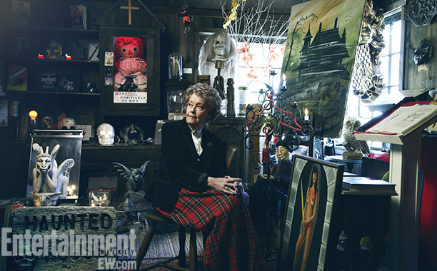 The Conjuring | On the ground floor of Lorraine's house in Monroe, Conn., is the Warren's Occult Museum, a collection of artifacts the pair retrieved from hauntings. The…