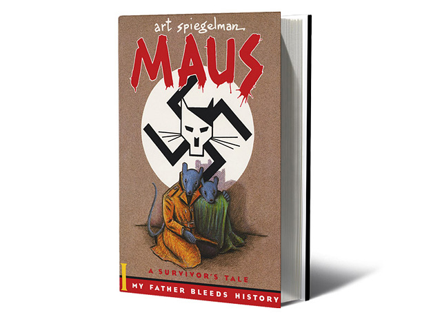 Spiegelman's graphic novel tells of his parents' struggle to survive the Holocaust by anthropomorphizing them as mice evading feline Nazis. It works on all the…