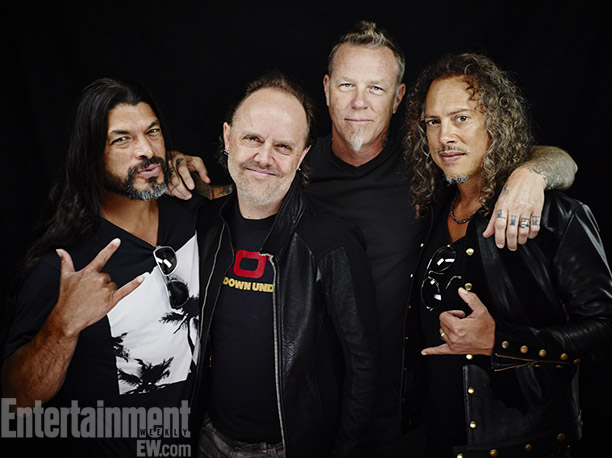 Robert Trujillo, Lars Ulrich, James Hetfield, Kirk Hammett, Metallica Through the Never