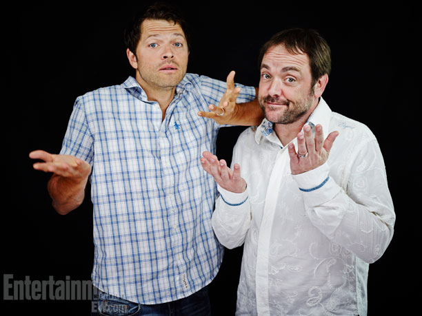 Misha Collins and Mark Sheppard, Supernatural