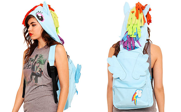 My Little Pony: Friendship is Magic   The upside of the Pony Pack: You'll obviously be the coolest kid on campus. The downside: It'll make you feel more like a pack mule…