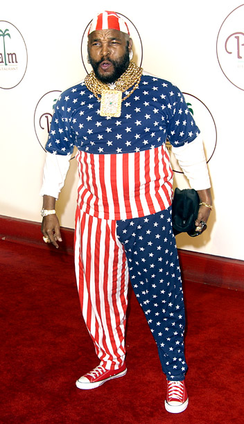 Style, Style: Red Carpet, ... | I pity the fool who makes fun of Mr. T in this American flag onesie. (Crap, that?s me.)